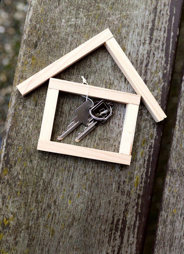 house, key, apartment